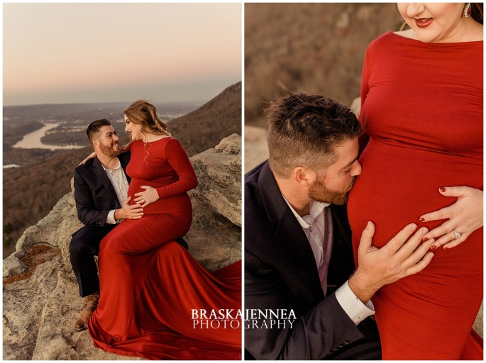 A Lookout Mountain Sunset Rock Maternity Session - Chattanooga Family Photographer - BraskaJennea Photography_0037.jpg