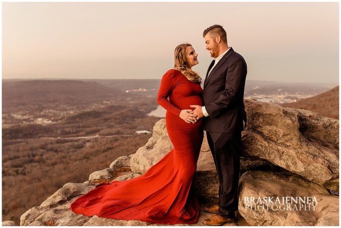 A Lookout Mountain Sunset Rock Maternity Session - Chattanooga Family Photographer - BraskaJennea Photography_0039.jpg