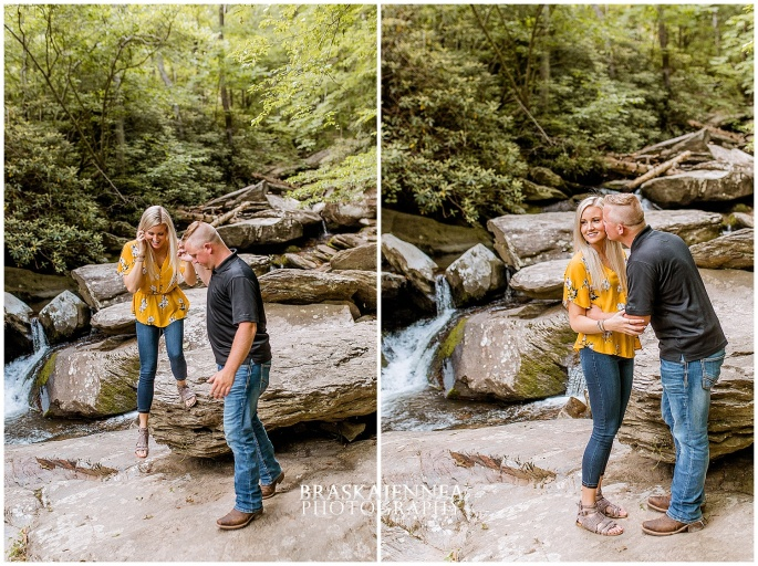 An Ocoee River Waterfall Engagement - Chattanooga Wedding Photographer - BraskaJennea Photography_0001.jpg