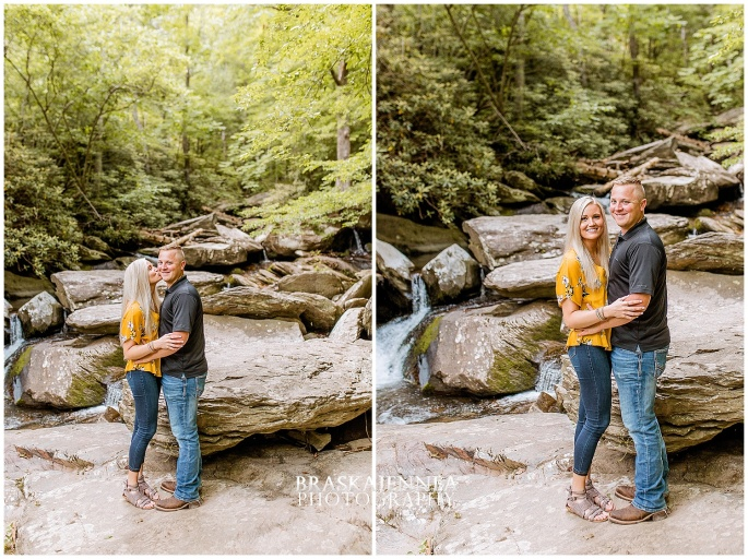 An Ocoee River Waterfall Engagement - Chattanooga Wedding Photographer - BraskaJennea Photography_0002.jpg