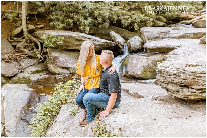 An Ocoee River Waterfall Engagement - Chattanooga Wedding Photographer - BraskaJennea Photography_0003.jpg