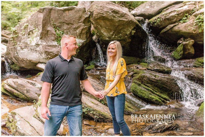 An Ocoee River Waterfall Engagement - Chattanooga Wedding Photographer - BraskaJennea Photography_0012.jpg