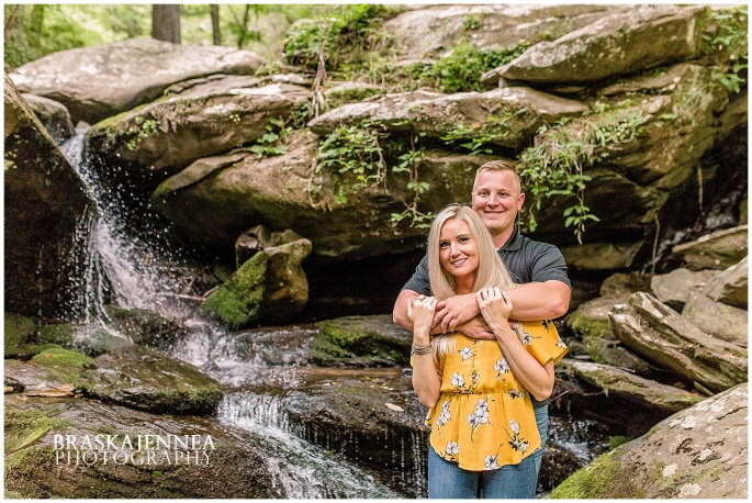 An Ocoee River Waterfall Engagement - Chattanooga Wedding Photographer - BraskaJennea Photography_0013.jpg