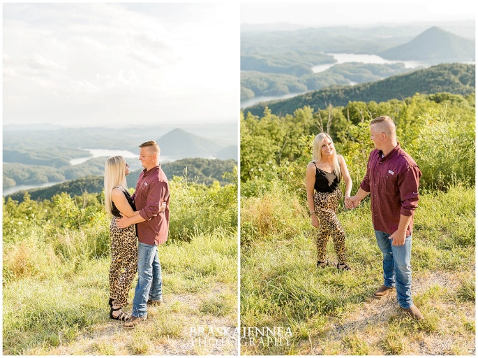 An Ocoee River Waterfall Engagement - Chattanooga Wedding Photographer - BraskaJennea Photography_0018.jpg