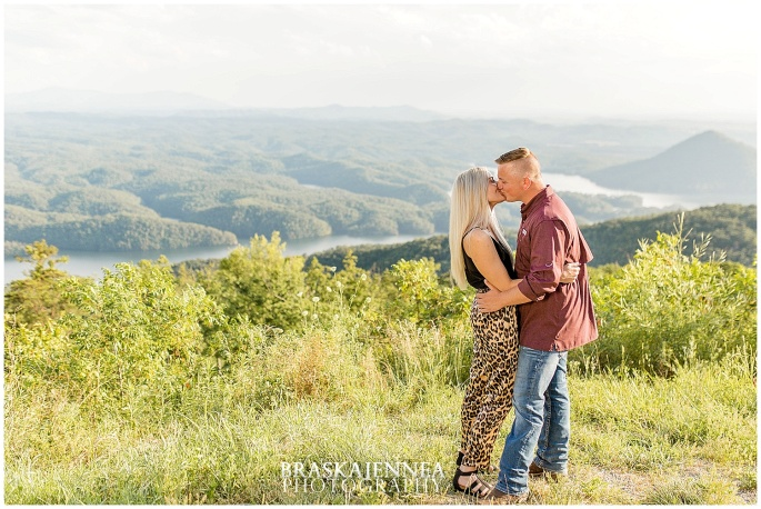 An Ocoee River Waterfall Engagement - Chattanooga Wedding Photographer - BraskaJennea Photography_0019.jpg
