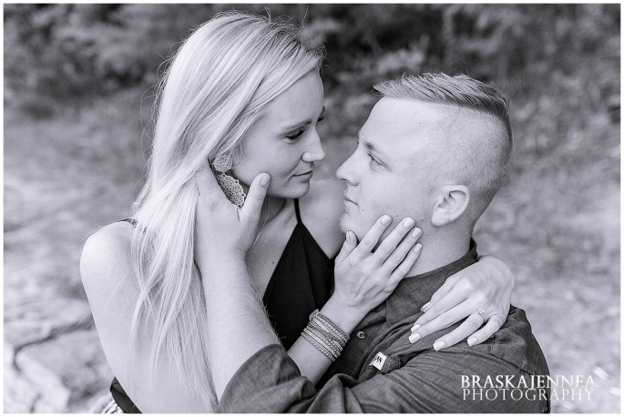 An Ocoee River Waterfall Engagement - Chattanooga Wedding Photographer - BraskaJennea Photography_0041.jpg