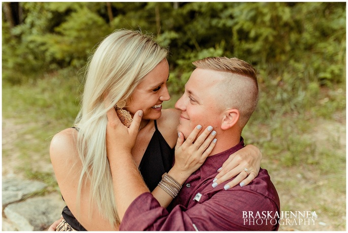 An Ocoee River Waterfall Engagement - Chattanooga Wedding Photographer - BraskaJennea Photography_0042.jpg