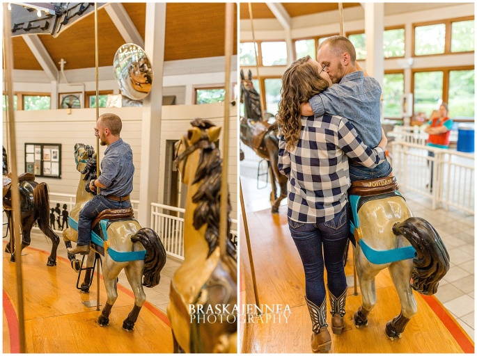 Downtown Chattanooga Coolidge Park Carousel Engagement - Chattanooga Wedding Photographer - BraskaJennea Photography_0004.jpg