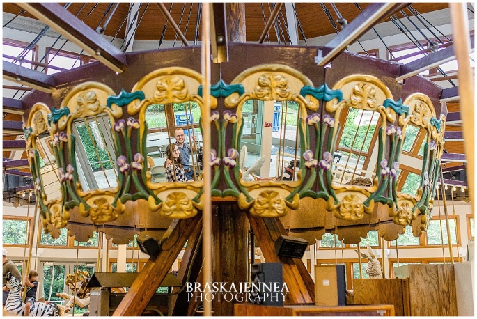 Downtown Chattanooga Coolidge Park Carousel Engagement - Chattanooga Wedding Photographer - BraskaJennea Photography_0008.jpg