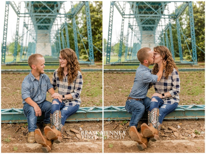 Downtown Chattanooga Coolidge Park Carousel Engagement - Chattanooga Wedding Photographer - BraskaJennea Photography_0010.jpg