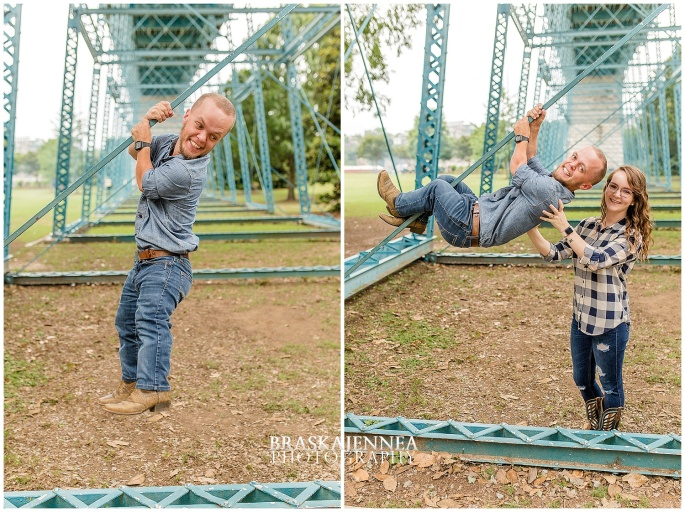 Downtown Chattanooga Coolidge Park Carousel Engagement - Chattanooga Wedding Photographer - BraskaJennea Photography_0013.jpg