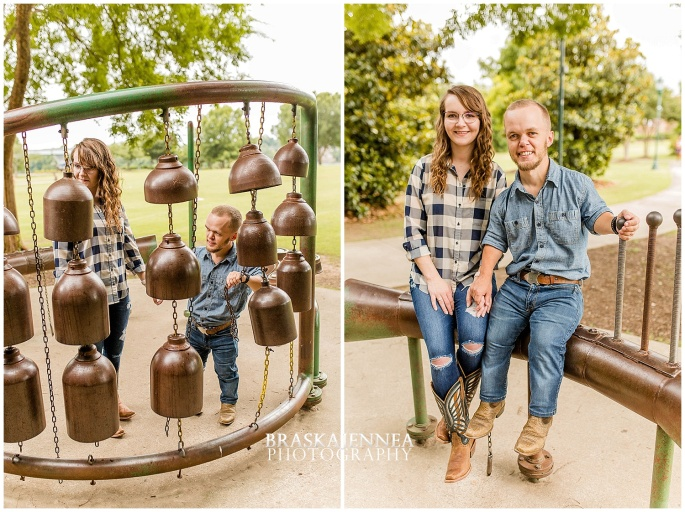Downtown Chattanooga Coolidge Park Carousel Engagement - Chattanooga Wedding Photographer - BraskaJennea Photography_0018.jpg