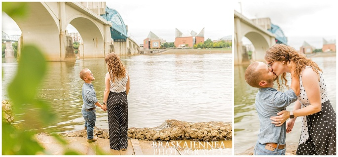Downtown Chattanooga Coolidge Park Carousel Engagement - Chattanooga Wedding Photographer - BraskaJennea Photography_0022.jpg