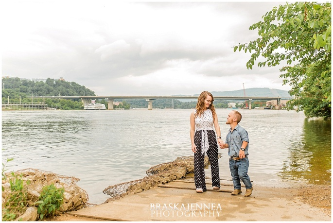Downtown Chattanooga Coolidge Park Carousel Engagement - Chattanooga Wedding Photographer - BraskaJennea Photography_0024.jpg
