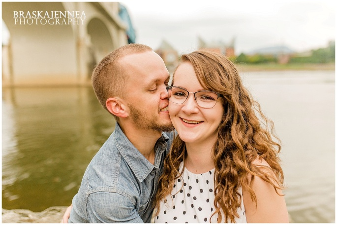 Downtown Chattanooga Coolidge Park Carousel Engagement - Chattanooga Wedding Photographer - BraskaJennea Photography_0029.jpg