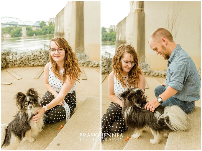 Downtown Chattanooga Coolidge Park Carousel Engagement - Chattanooga Wedding Photographer - BraskaJennea Photography_0035.jpg