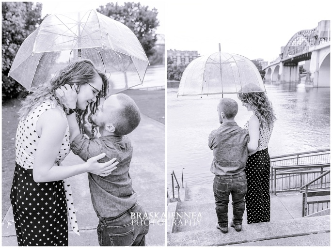 Downtown Chattanooga Coolidge Park Carousel Engagement - Chattanooga Wedding Photographer - BraskaJennea Photography_0042.jpg