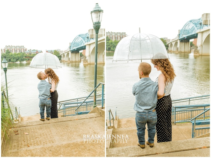 Downtown Chattanooga Coolidge Park Carousel Engagement - Chattanooga Wedding Photographer - BraskaJennea Photography_0044.jpg